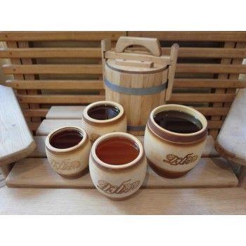 Мёд Псковская липа с лесным разнотравьем 1 кг