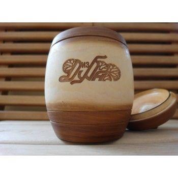 Мёд Псковская липа с лесным разнотравьем в бочонке 5 кг