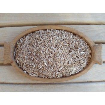 Щепа дубовая без обжига мелкая 0.5 кг.