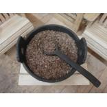 Щепа дубовая сильный обжиг, средняя, 10 кг.